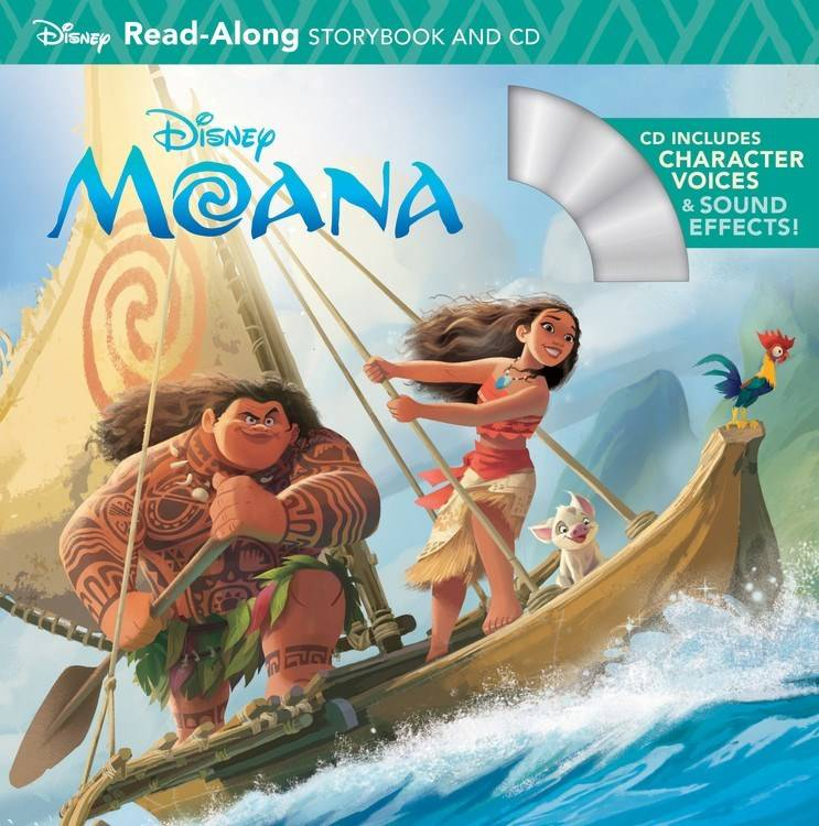 Disney-Hyperion Disney Moana: Read-Along (with CD)