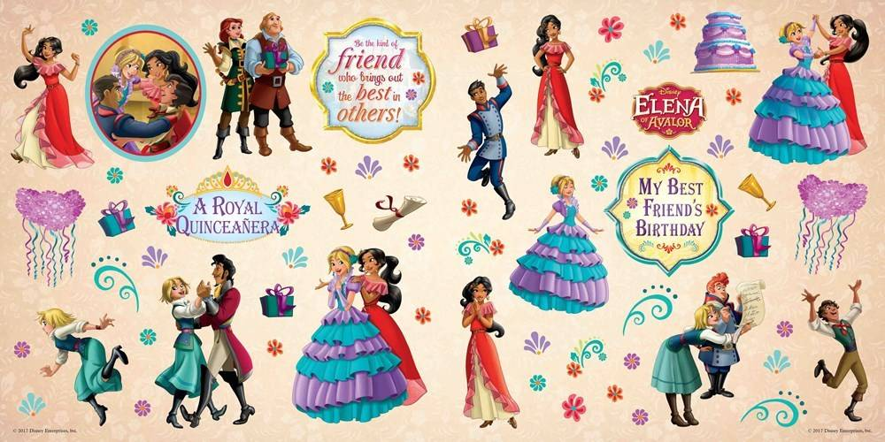 Disney-Hyperion Disney Elena of Avalor: My Best Friend's Birthday