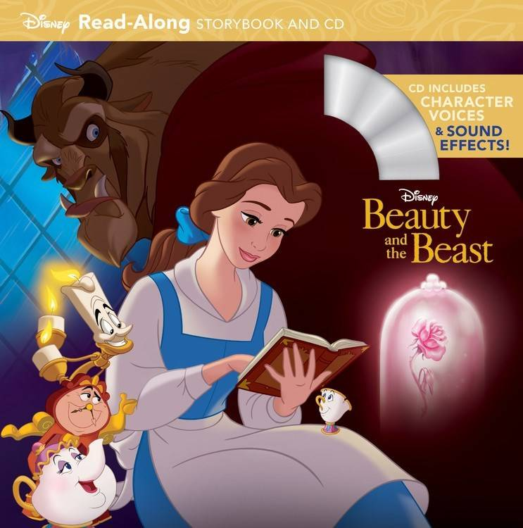 Disney-Hyperion Disney Beauty and the Beast: Read-Along (with CD)