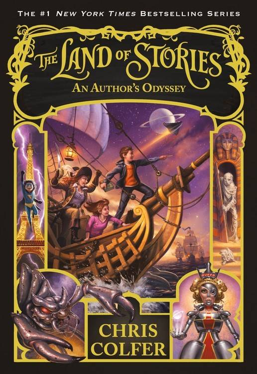 Little, Brown and Company The Land of Stories 05 An Author's Odyssey