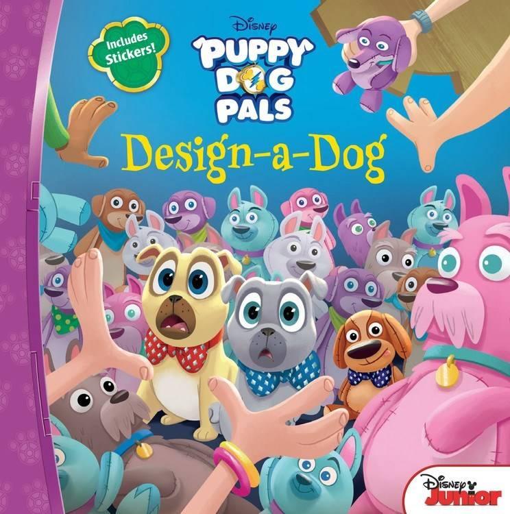 Disney Press Disney Puppy Dog Pals: Design-A-Dog
