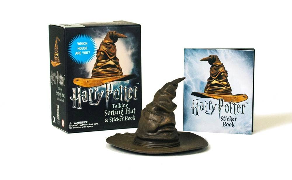 Running Press Harry Potter: Talking Sorting Hat and Sticker Book