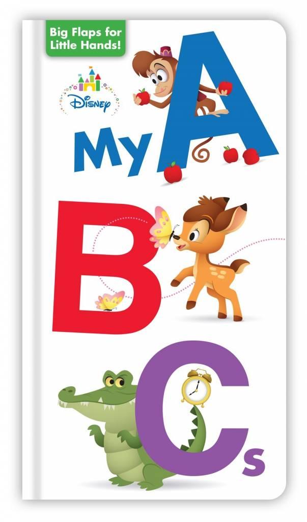 Disney Press Disney Baby: My ABCs (Board Book)