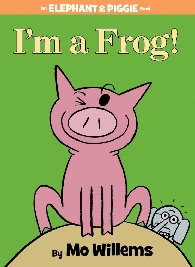 Disney-Hyperion Elephant & Piggie: I'm a Frog!