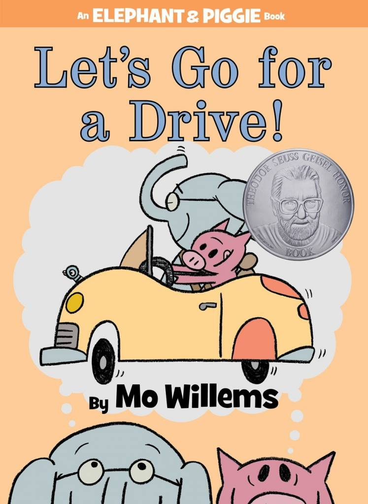 Disney-Hyperion Elephant & Piggie: Let's Go for a Drive!