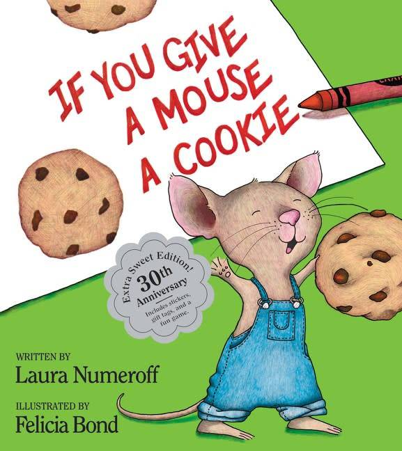 HarperCollins If You Give... 01 If You Give a Mouse a Cookie