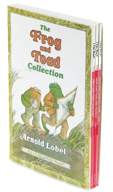 Frog and Toad Boxed Set (I Can Read!, Lvl 2, 3 Books)