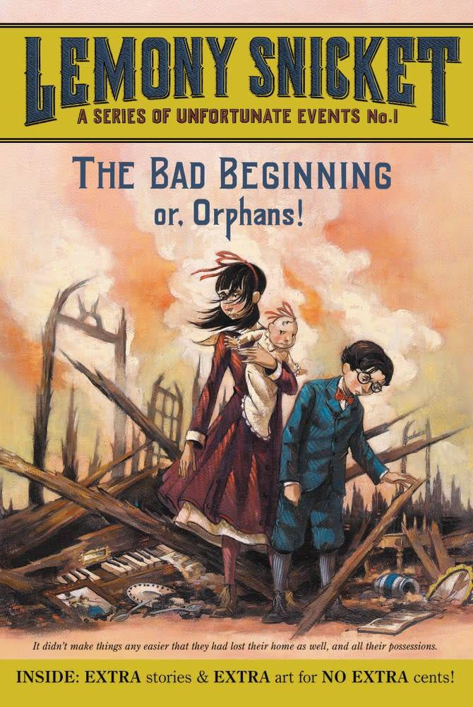 Harper Series of Unfortunate Events 01 The Bad Beginning