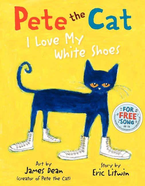 Harper Pete the Cat: I Love My White Shoes