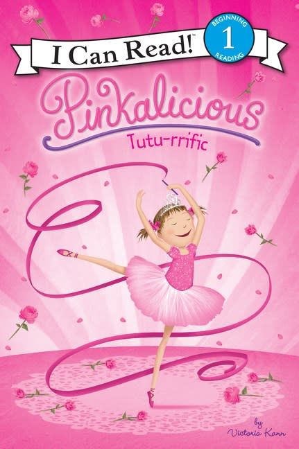 Harper Pinkalicious: Tutu-rrific (I Can Read!, Lvl 1)