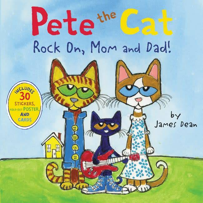 HarperFestival Pete the Cat: Rock on, Mom and Dad!
