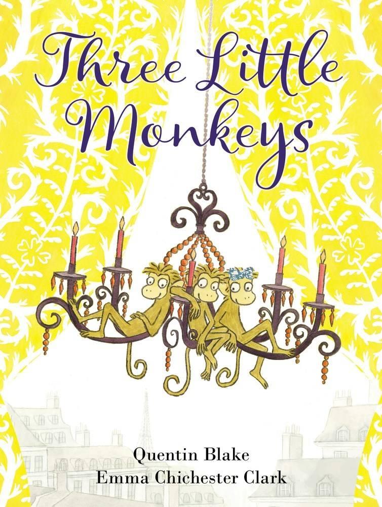 HarperCollins Three Little Monkeys