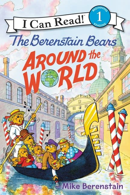 Harper Berenstain Bears: Around the World (I Can Read!, Lvl 1)