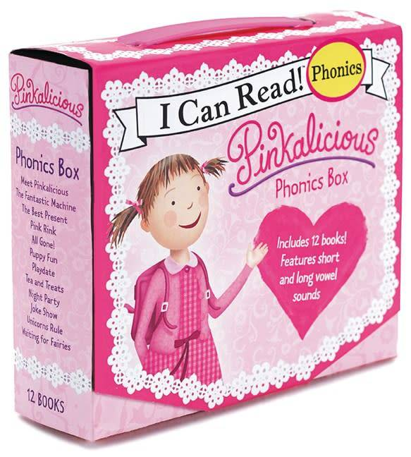Harper Pinkalicious: Phonics Boxed Set (I Can Read!, 12 Mini-Books)
