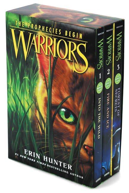 Harper Warriors: The Prophecies Begin Boxed Set (#1-3)