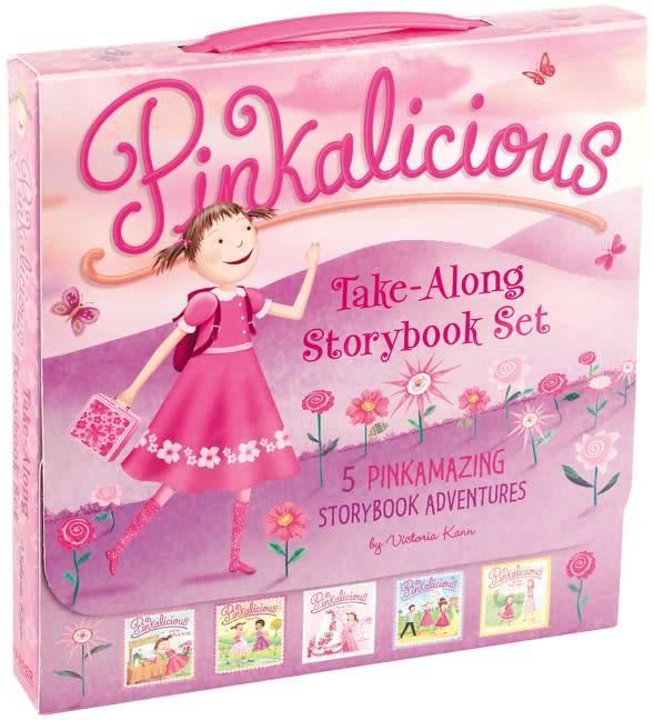 HarperFestival Pinkalicious: Take-Along Story Box (5 Books)