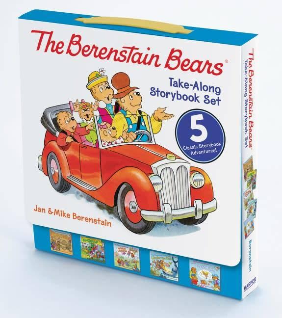 Harper Berenstain Bears: Take-Along Storybook Set