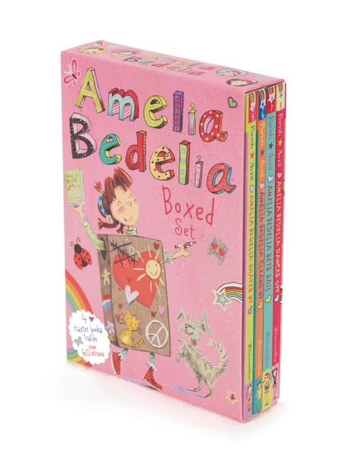 Greenwillow Books Amelia Bedelia (Chapter Book) Boxed Set (#5-8)