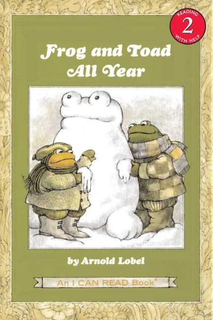 Harper Frog and Toad 03 All Year (I Can Read!, Lvl 2)