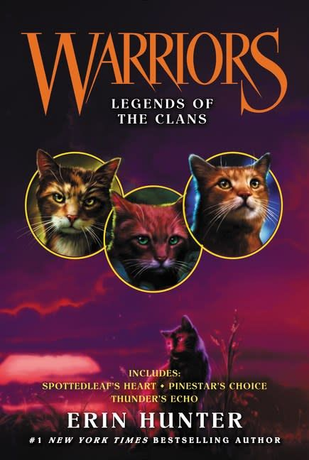 HarperCollins Warriors Novellas Vol. 04 Legends of the Clans (#10-12)