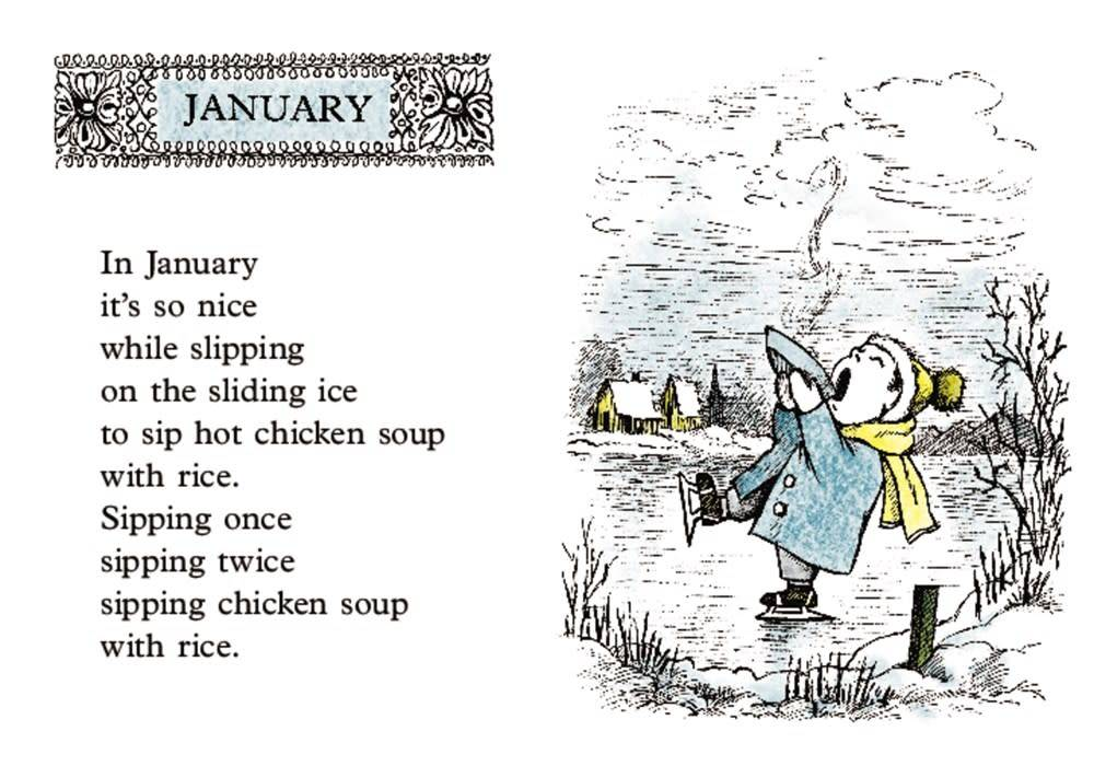 HarperCollins Chicken Soup with Rice: A Book of Months