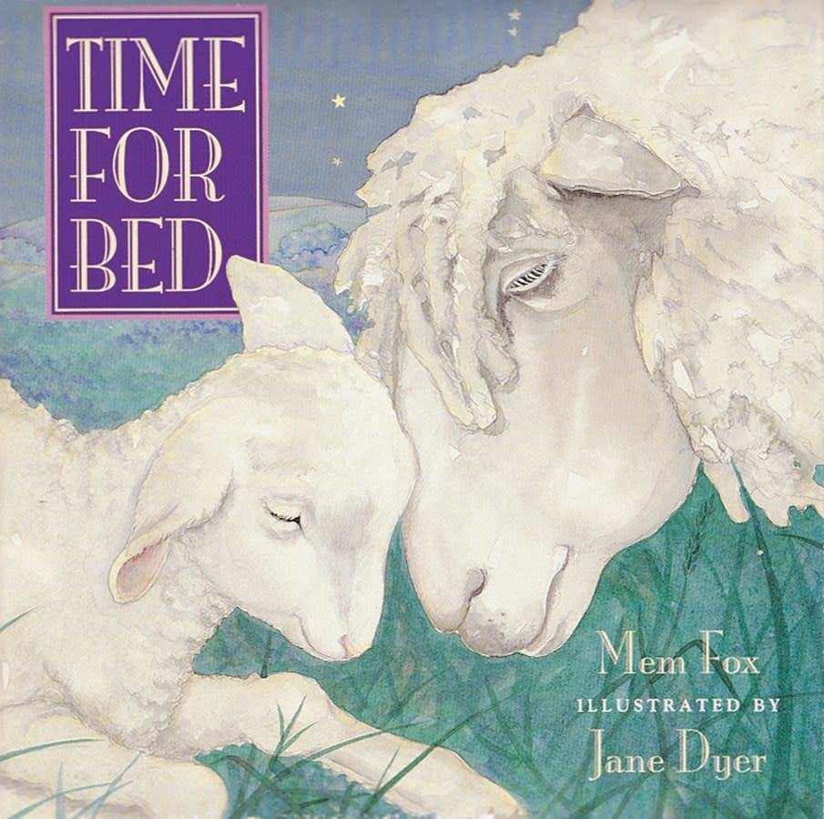 Houghton Mifflin Harcourt Time for Bed (Large Board Book)