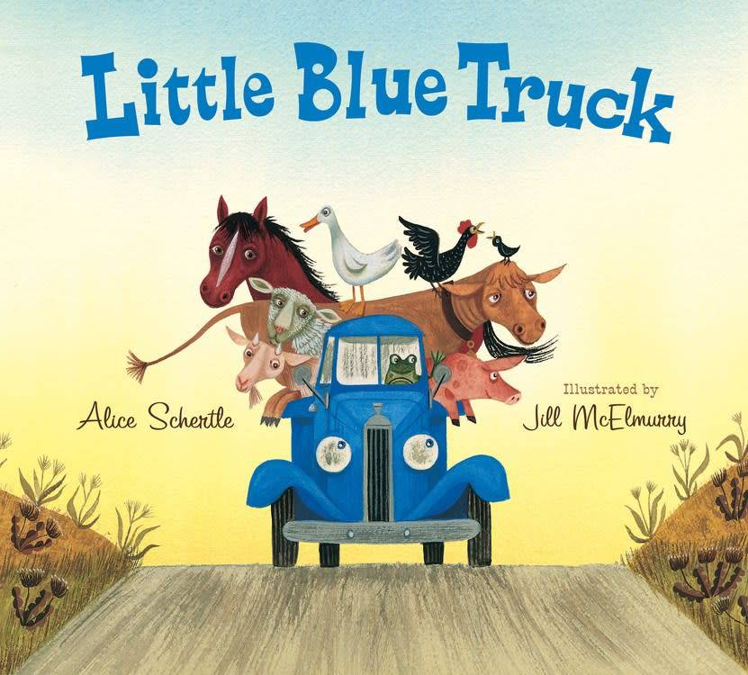Houghton Mifflin Harcourt Little Blue Truck 01 (Large Board Book)