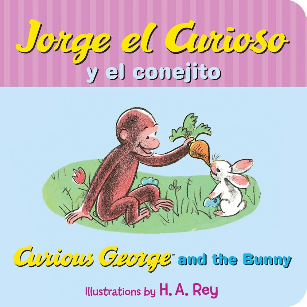 Curious George and the Bunny / Jorge El Curioso Y El Conejito (Spanish-English Ed.)