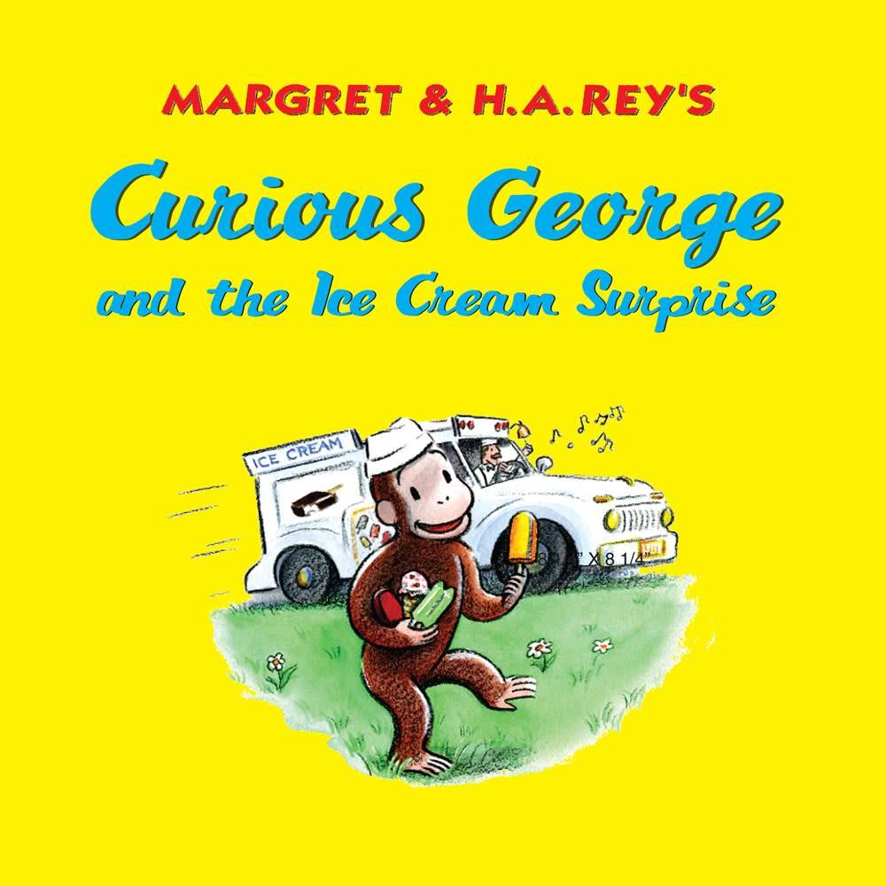Houghton Mifflin Harcourt Curious George: The Ice Cream Surprise