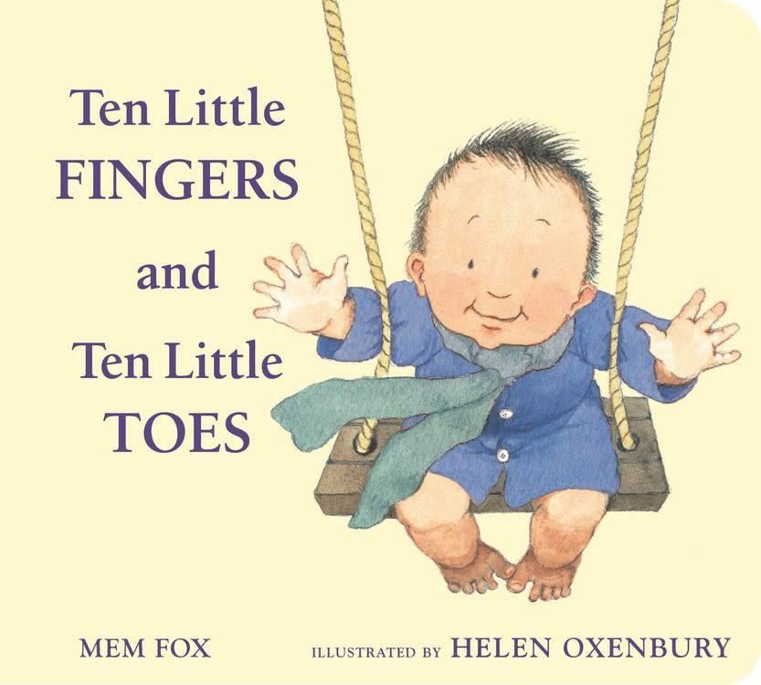 Houghton Mifflin Harcourt Ten Little Fingers and Ten Little Toes