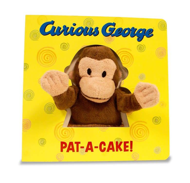 Houghton Mifflin Harcourt Curious George: Pat-a-Cake! (Hand Puppet Board Book)
