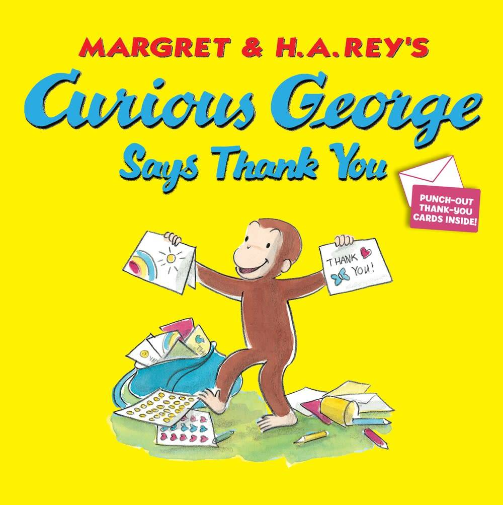 Houghton Mifflin Harcourt Curious George: Says Thank You