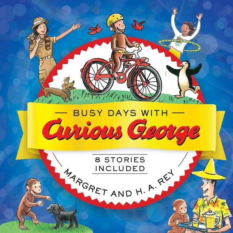 HMH Books for Young Readers Curious George: Busy Days... Anthology (8 Stories)