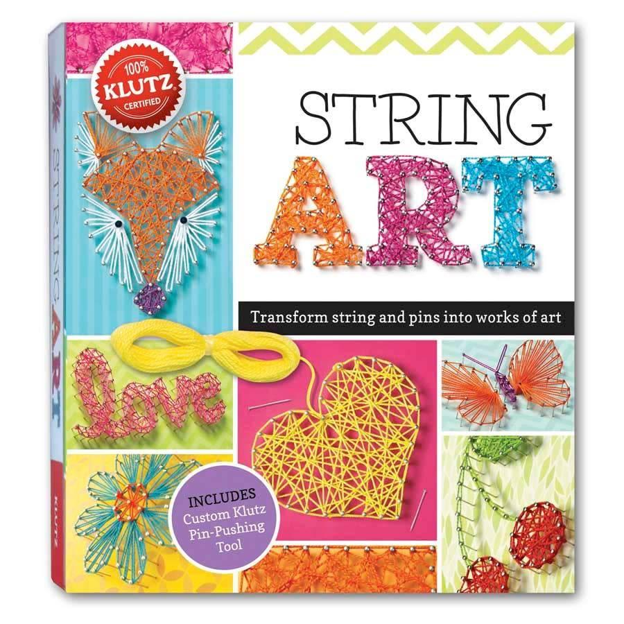 Klutz Klutz: String Art: Transform String and Pins into... Art