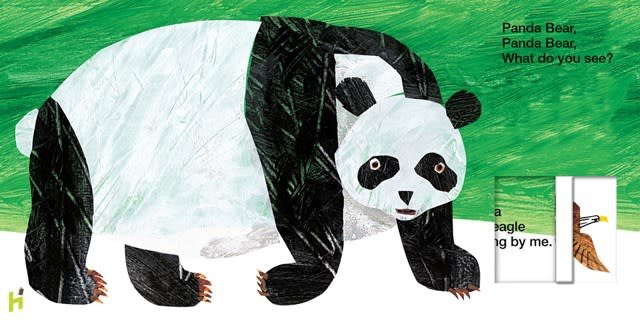 Priddy Books Bears: ...Panda Bear, What Do You See? (Interactive)