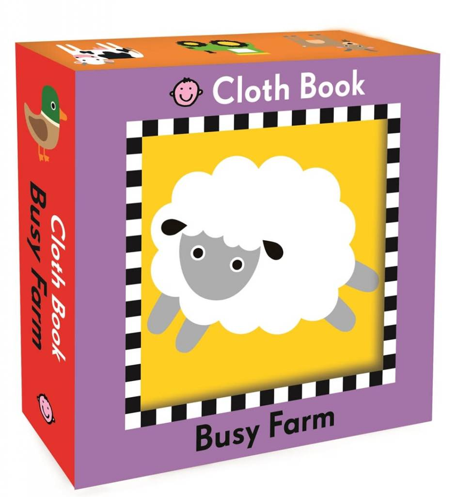 Priddy Books Busy Farm (Cloth Book)