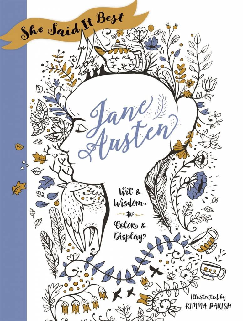 Castle Point Books She Said It Best: Jane Austen: Wit and Wisdom to Color...