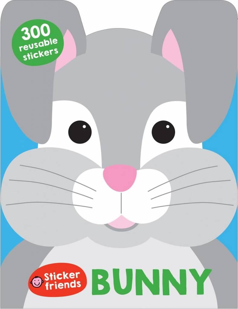 Priddy Books Sticker Friends: Bunny