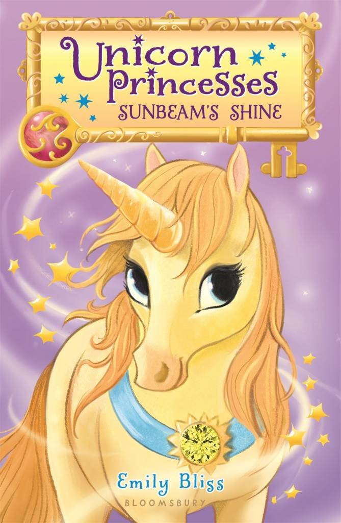 Bloomsbury USA Childrens Unicorn Princesses 01 Sunbeam's Shine