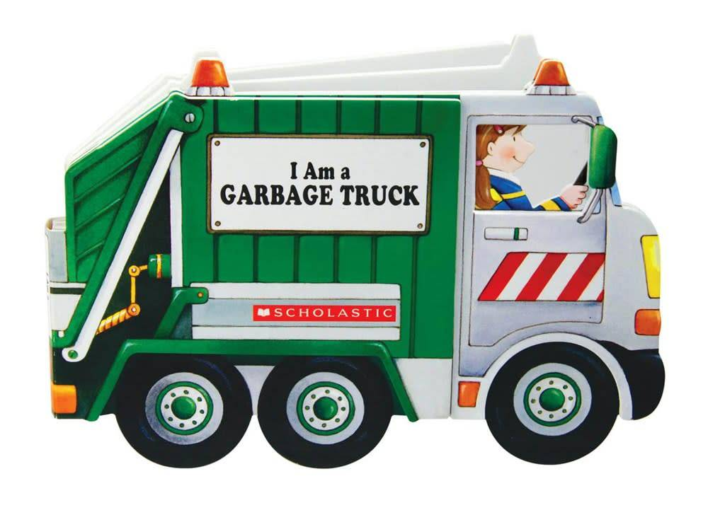 I Am a Garbage Truck (Shaped Book)
