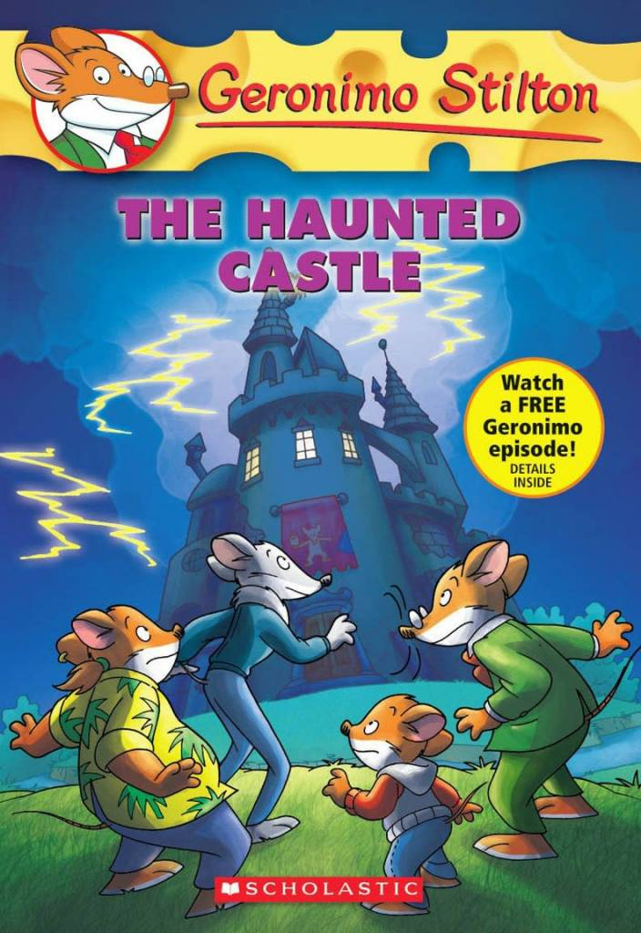 Scholastic Inc. Geronimo Stilton 46 Haunted Castle