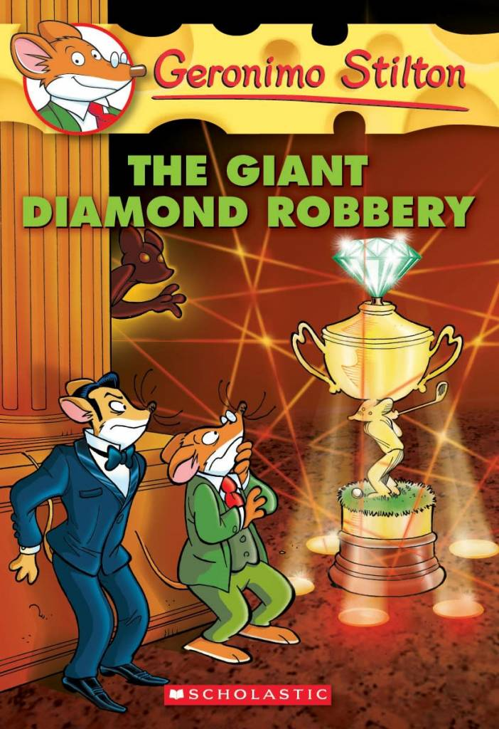 Geronimo Stilton 44 The Giant Diamond Robbery
