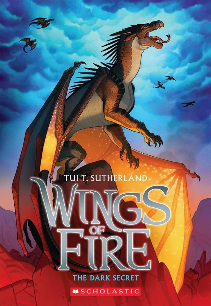 Scholastic Inc. Wings of Fire 04 The Dark Secret