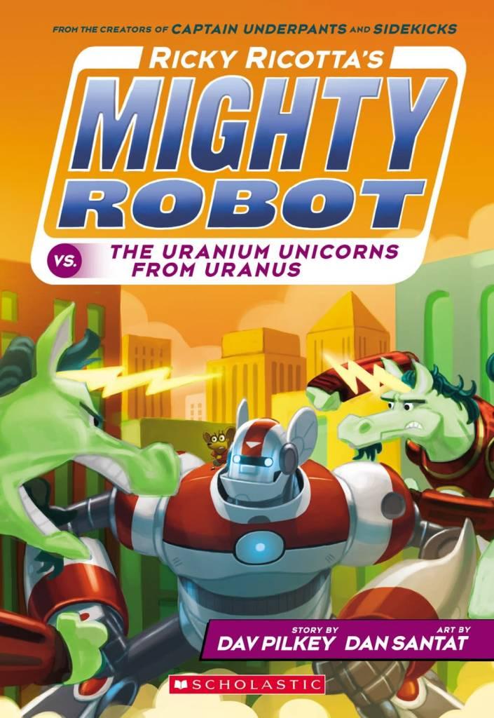 Ricky Ricotta's Mighty Robot 07 The Uranium...