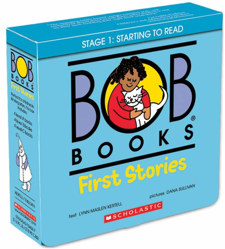 BOB Books: First Stories Boxed Set (12 Mini-Books)