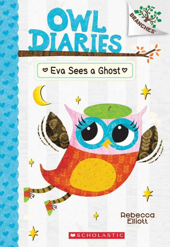 Owl Diaries 02 Eva Sees a Ghost