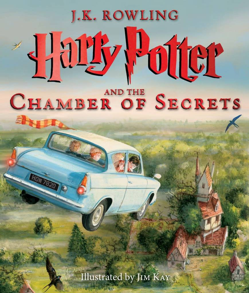 Harry Potter 02 The Chamber of Secrets (Illustrated)