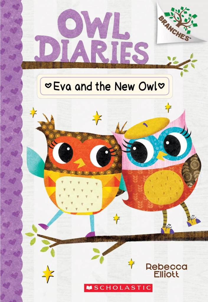 Owl Diaries 04 Eva and the New Owl