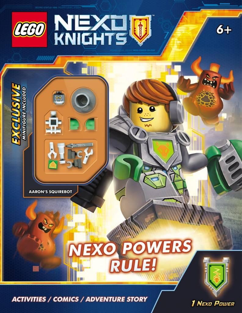 Scholastic Inc. LEGO Nexo Knights: Nexo Powers Rule! Activity Book