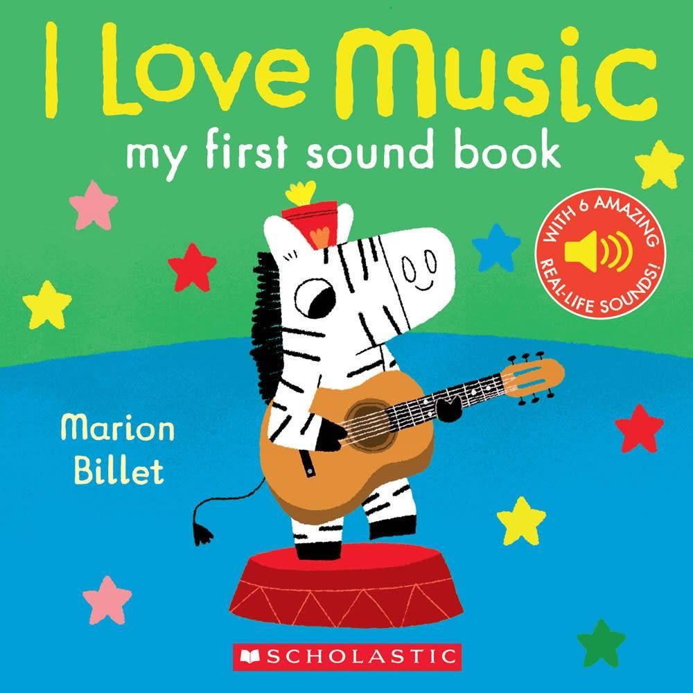 I Love Music (My First Sound Book)